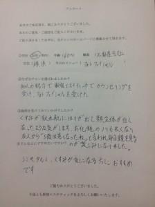 横浜在住の40代女性の声
